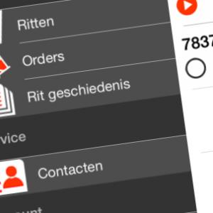 driverapp-menuscherm